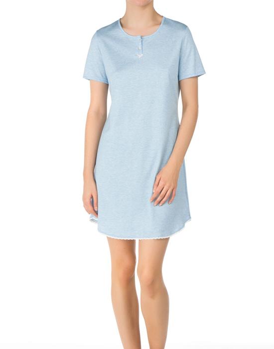 Calida Women sleepshirt, 34522, Lys blå