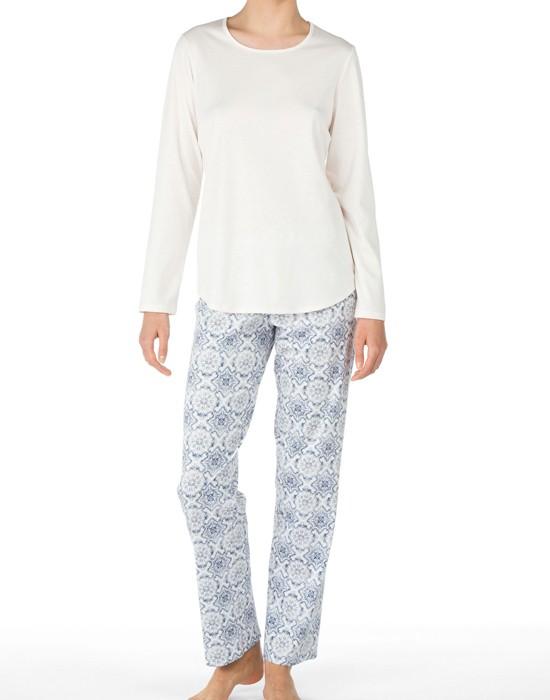 Calida Women Pyjamas, 46604, Blå mønstret