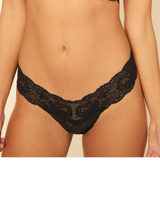 Cosabella NEVER SAY NEVER CUTIE THONG - String - black